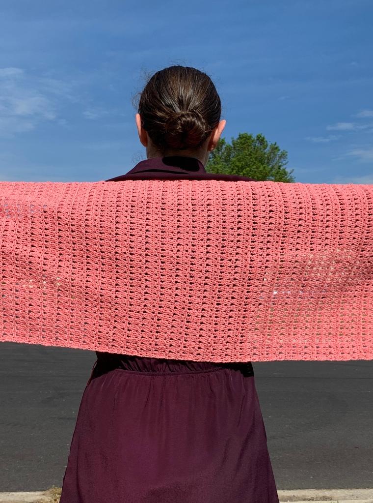 crochet, yarn, hook, needle, knit. single, double, summer, ice yarn, wedding, dress, fancy, shimmer, summer yarn, everyday, shawl, fine weight, clover, brava, lion brand, knit picks, premier